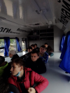 Ребята #Чёрновскойшколы проходят обучение в уникальном передвижном «Мобильном кванториуме»,