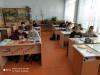 В канун Нового года в 5 классе Чёрновской школы прошло внеурочное занятие по теме: «Зимняя аппликация из бумаги».
