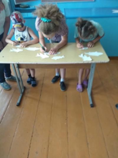 Экологический праздник в летнем лагере «Улыбка».
