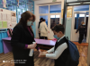 В #Чёрновскойшколе установлены при входе в здание дозаторы с антисептическим средством для обработки рук.