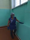 Согласно новым СанПиН  для предупреждения возникновения инфекционной опасности в Чёрновской школе проводится дезинфекция, которая включает своевременную обработку и уборку помещений