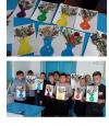 Детский мастер-класс «Поделки из природного материала» показали ребята Чёрновской школы