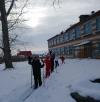 Уроки лыжной подготовки в #Чёрновскойшколе проводятся в третьей четверти после зимних каникул в объеме 16 ч. в каждом классе.