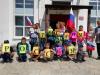 К Дню России на территории Чёрновской школы для детей ЛДП «Улыбка» была организована игровая программа «Марафон спортивных забав»