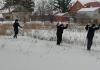 Несмотря на мороз и праздничные дни, обучающиеся Чёрновской школы на зимних каникулах пришли поучаствовать в спортивном соревновании «Весёлая лыжня».