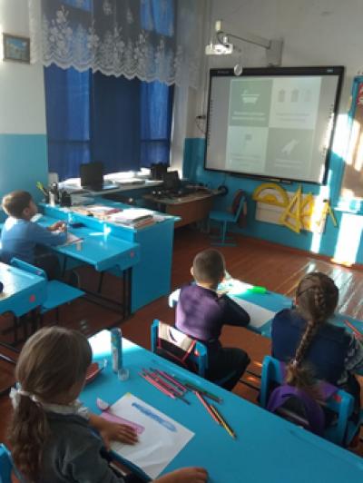 Всероссийский урок «Эколята – молодые защитники природы» понравился всем детям.