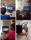 Обучающиеся 2 класса Чёрновской школы приняли активное участие в просмотре онлайн-спектакля «Летучий корабль» на платформе Учи.ру.