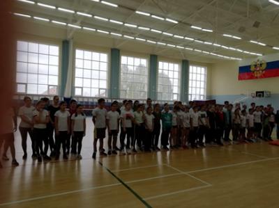 16 октября ученики Чёрновской школы приняли активное участие в районном этапе Олимпиады по физической культуре,