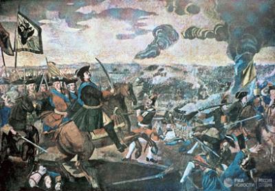 10 июля - День воинской славы. Победа русской армии под командованием Петра I над шведами в Полтавском сражении (1709)