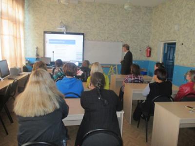 Проект ранней ориентации школьников «Билет в будущее» был сегодня рассмотрен на родительском собрании  в Чёрновской школе в форме вебинара