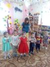 В Чёрновском детском саду «Тополёк» прошёл осенний праздник.