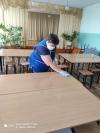 Дезинфекция в Чёрновской школе является регулярным и важным мероприятием, служащим для поддержания благоприятной санитарной обстановки в здании ОО