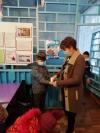 В Чёрновской школе, в связи с распространением гриппа, ОРВИ и пандемии, ежедневно организован
