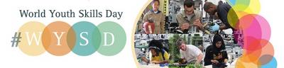 15 июля отмечается Всемирный день навыков молодежи(World Youth Skills Day),учреждённый ООН в 2014 году.