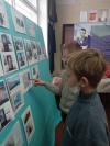 На зимних каникулах ребята 5 класса посетили школьный музей «Историческое наследие»
